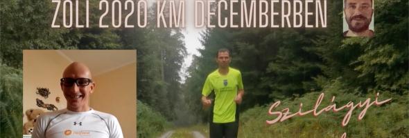 Szilágyi Gyula – Futás – Edzések – Csécsei Zoli 2020 km decemberben