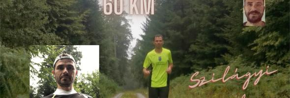 Szilágyi Gyula – Futás – Edzések – Hétvégi hosszú edzés 60 km