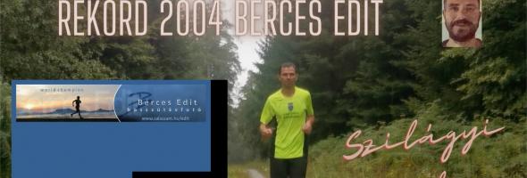 Szilágyi Gyula – Futás – Versenyek – 24 órás futópados Guinness-rekord 2004 Bérces Edit
