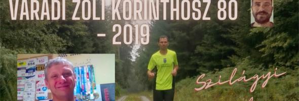 Szilágyi Gyula – Futás – Versenyek – Váradi Zoli Korinthosz 80 – 2019